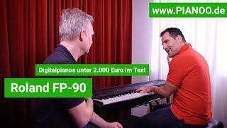 Digitalpiano für Einsteiger und Fortgeschrittene - Test: Roland FP-90