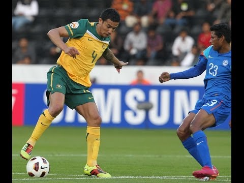 India vs Australia: AFC Asian Cup 2011 (Full Match)
