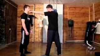 Обучалка  для уличного боя часть 1 удары руками
