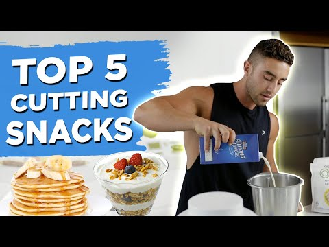 5 Quick and Easy CUTTING SNACKS for Fat Loss | Zac Perna