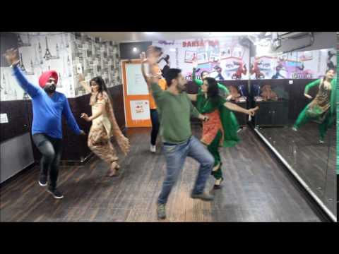 Laembadgini | Diljit Dosanjh | Easy Bhangra Steps Choreography | Dansation Studio 98888892718