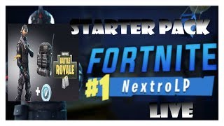 Fortnite Battle Royale (Live) 🔴 Subscription Games / WE PLAY THE HALO SKIN ! (English| German)