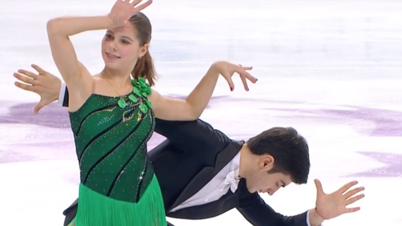 MISHINA Anastasia / MIRZOEV Vladislav (RUS) - Junior Grand Prix Final 2016, Marseille - free program