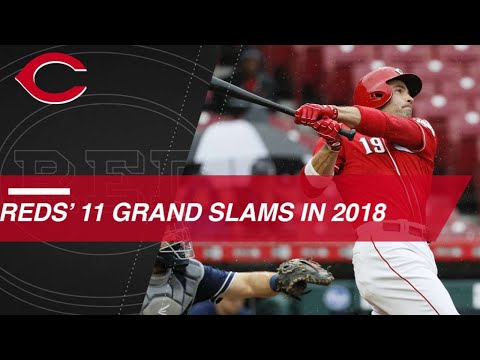 Reds set franchise record with 11 grand slams in 2018