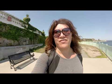 Best Hike Newport Cliff Walk Rhode Island - RV Living Vlog