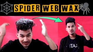 L'Oréal Tecni ART WEB Hair Wax SPIDER WEB HAIR WAX Trending hair wax 2019 | Review in HINDI