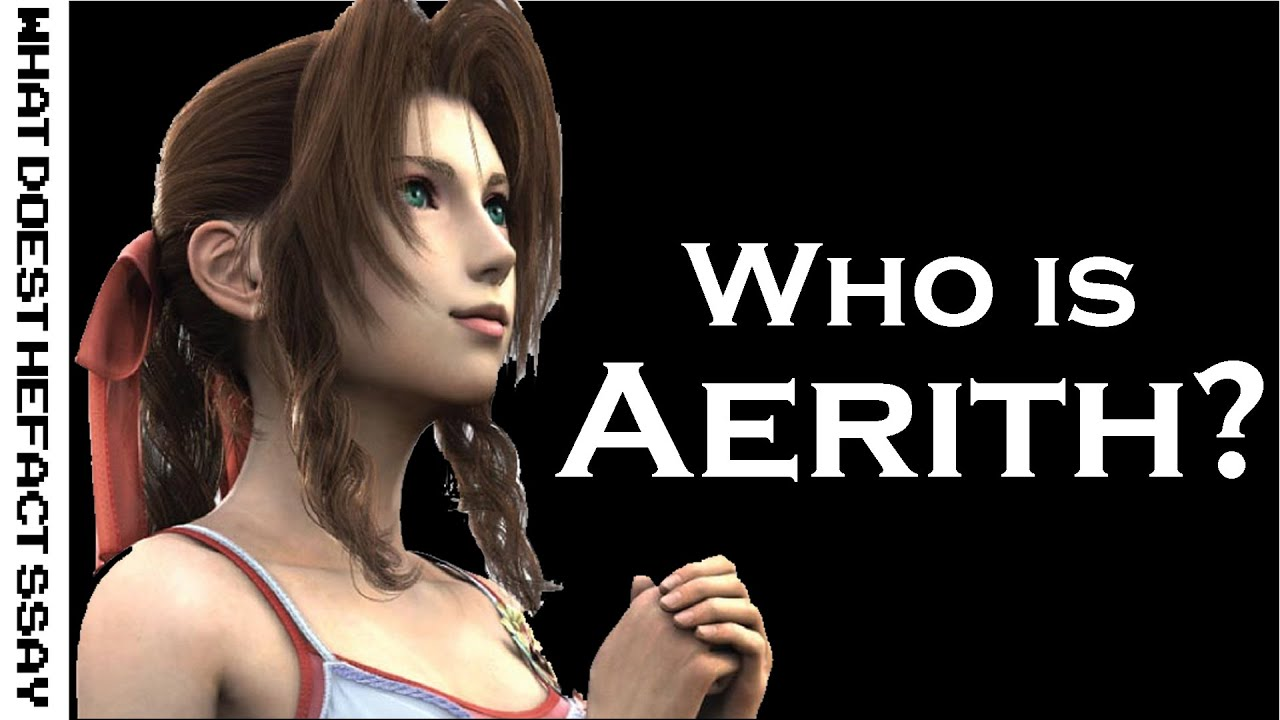 who is aerith gainsborough youtube