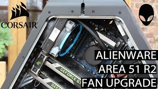 alienware area 51 fan upgrade radiator