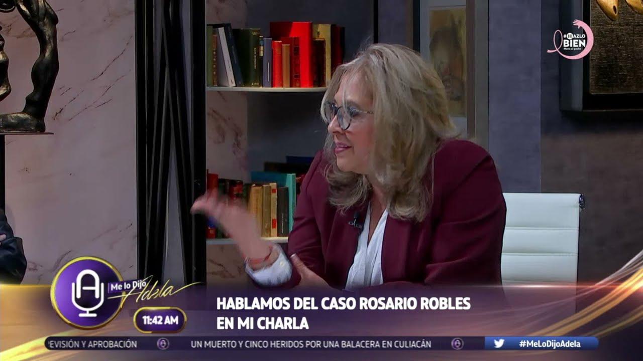 Download #MiCharla María de los Ángeles y Javier Lozano I Caso Rosario Robles