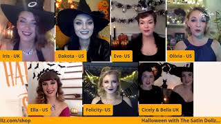 SATIN DOLLZ LIVE STREAM : Halloween with The Satin Dollz - October 24, 2020