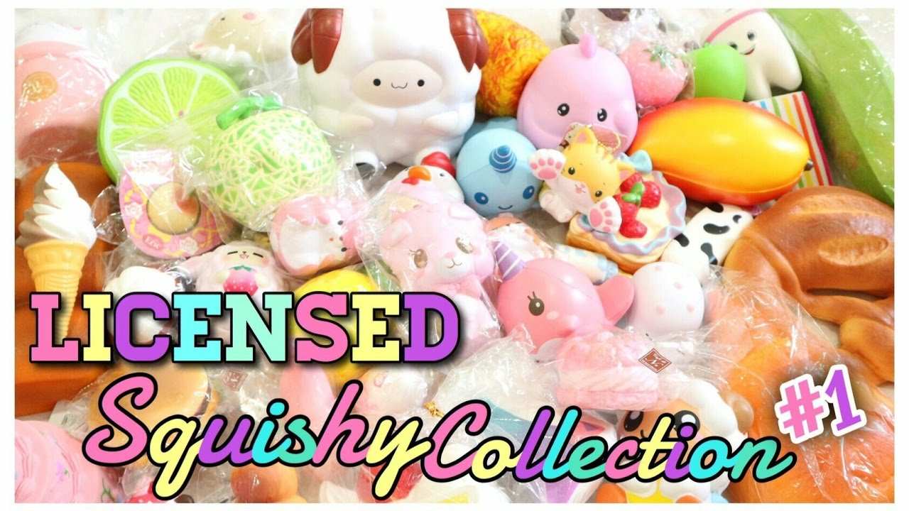 My Squishy Collection Part 1 : My Licensed Squishy Collection #1 - YouTube