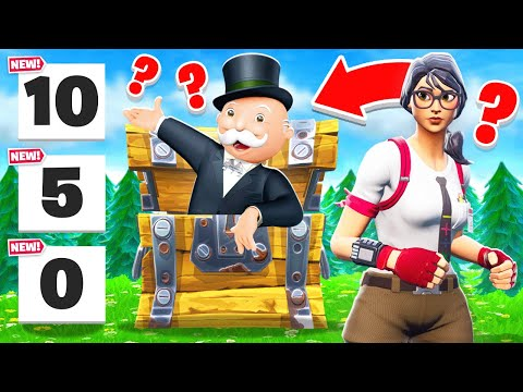 It's MONOPOLY But It's In FORTNITE! *NEW* Game Mode!