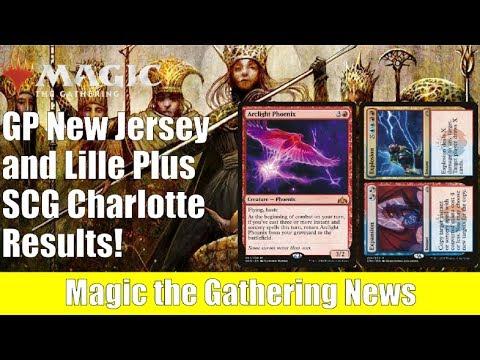 MTG Grand Prix New Jersey and Lille Results Plus SCG Charlotte
