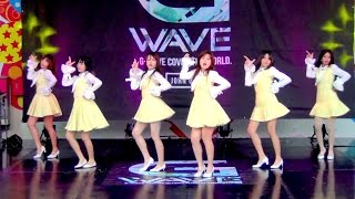 150530 Choco Pink cover Apink - LUV + Mr.Chu @G-WAVE Cover Dance 2015