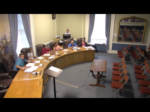 City of Plattsburgh, NY Meeting  8-20-18