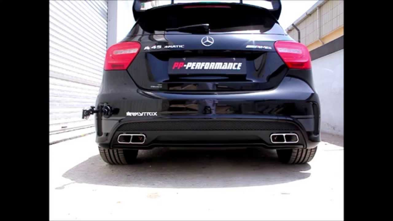 Mercedes benz a45 amg w armytrix full valvetronic exhaust for Mercedes benz performance exhaust
