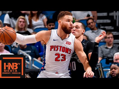 Detroit Pistons vs Orlando Magic Full Game Highlights | 12/30/2018 NBA Season