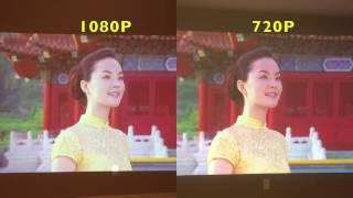1080p vs 720p Projectors - Real World Test of Epson Powerlite Video Projectors