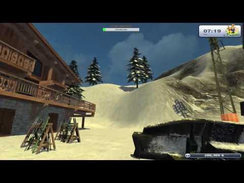 Стрим:Ski Region Simulator-2012.Пробная версия игры.14.11.2016г.