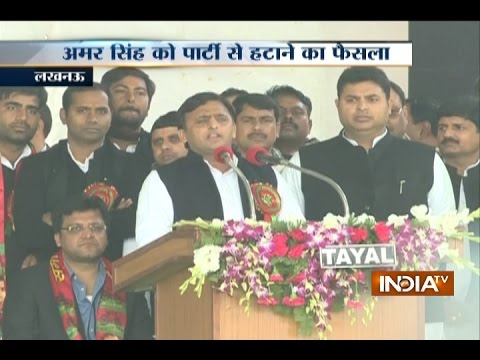 Akhilesh Yadav elected national president of SP, declares Ramgopal Yadav in National Executive meet