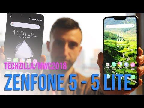 il NOTCH su Asus Zenfone 5 e 5 Lite  - Anteprima - MWC 2018
