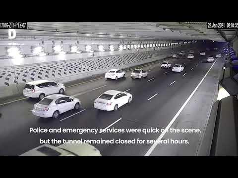 Katara Tunnel Crash