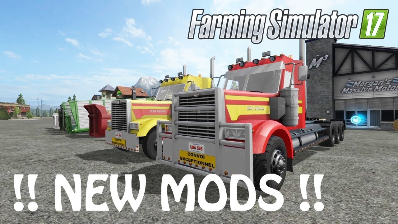 NEW MODS in Farming Simulator 2017 | THE NEW BSM TRUCK MOD & FARMHOUSE |  PS4 | Xbox One