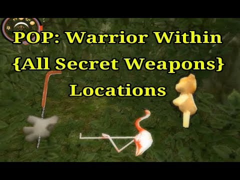 Prince of Persia: Warrior Within All Secret Weapons