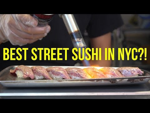 Best Outdoor Sushi Bar 壽司 on Jones Street (New York City)