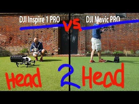 Ultimate DJI Mavic PRO vs DJI Inspire 1 PRO Drone Off!!