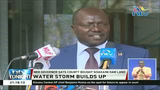Nairobi Governor, Mike Sonko dares Governor Mwangi wa Iria to disconnect Nairobi water