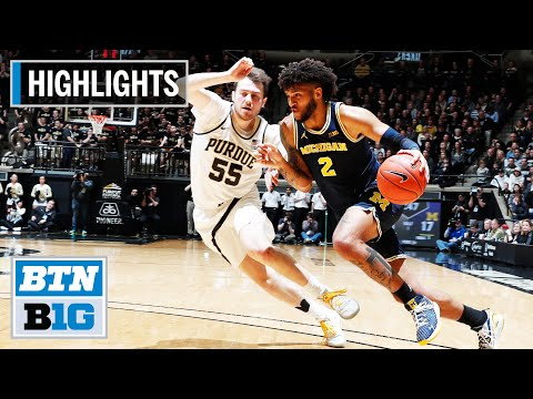 highlights:-wagner-scores-career-high-against-boilermakers-|-michigan-at-purdue-|-feb.-22,-2020