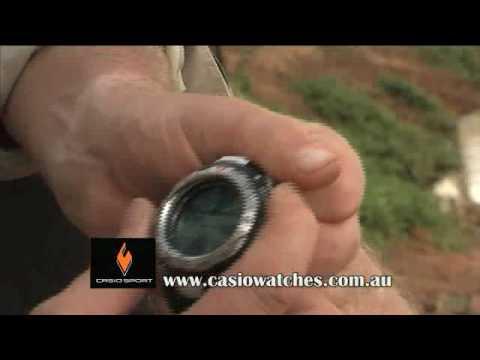 Fishing watch Casio