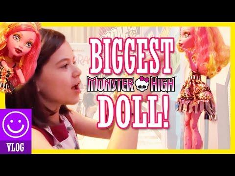 BIGGEST MONSTER HIGH DOLL IN THE WORLD! GOOLIOPE JELLINGTON!     KITTIESMAMA