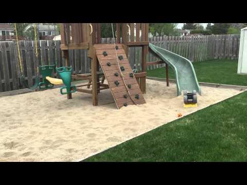 Super carr de sable avec jeu ext rieur costco pour for Module de jeu exterieur