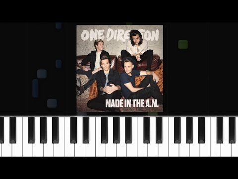One Direction - ''Infinity'' Piano Tutorial - Chords - How To Play - Cover