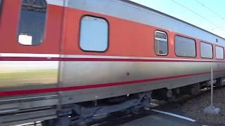 8797次試運轉列車通過斗南鎮部前寮平交道