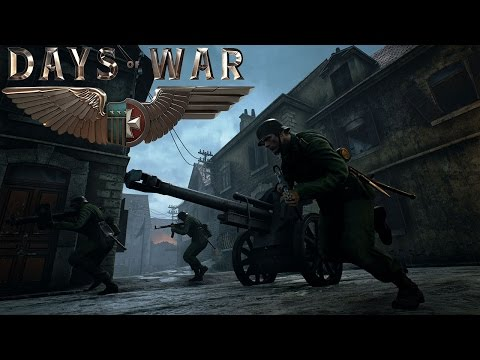 Days of War (Early Access) - WW2 Online Shooter - Allies and Reich Gameplay