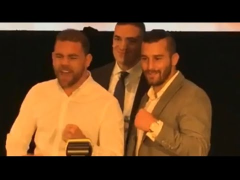 SAUNDERS VS LEMIEUX PRESS CONFERENCE! JOSHUA VS TAKAM FIGHT WEEK PREVIEW! ANDRADE MOVES TO 160