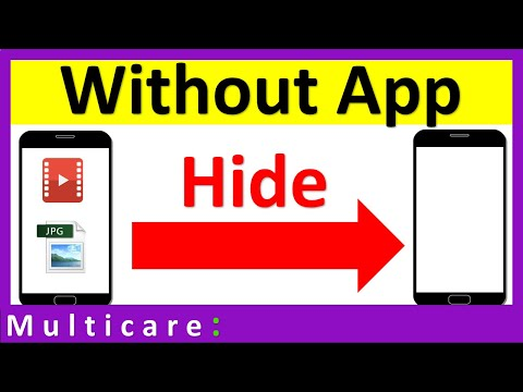 How To Hide Photos And Videos On Android : Without Any App