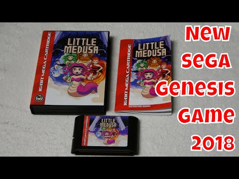 New Sega Genesis Game 2018 Little Medusa