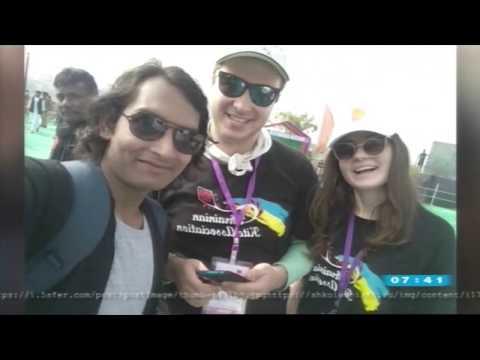 Ранок UA:Херсон: Асоціація повітряних зміїв України про змагання в Індії