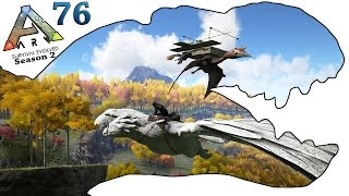 ARK Survival Evolved Gameplay - S2 Ep76 - Sky Base Planning - Let