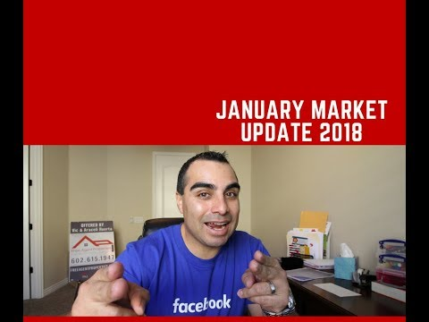 "Phoenix Arizona Housing Market Update For January 2018 By Free Agent Properties- Victor ""Vic"" Huerta"