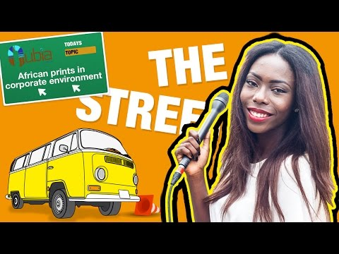 THE STREET: African prints in the working environment