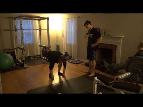 Baseball Yoga Flexibility Workout