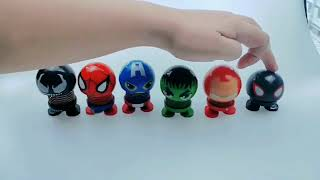 The Avengers series Car's Emoji Body Shake Doll