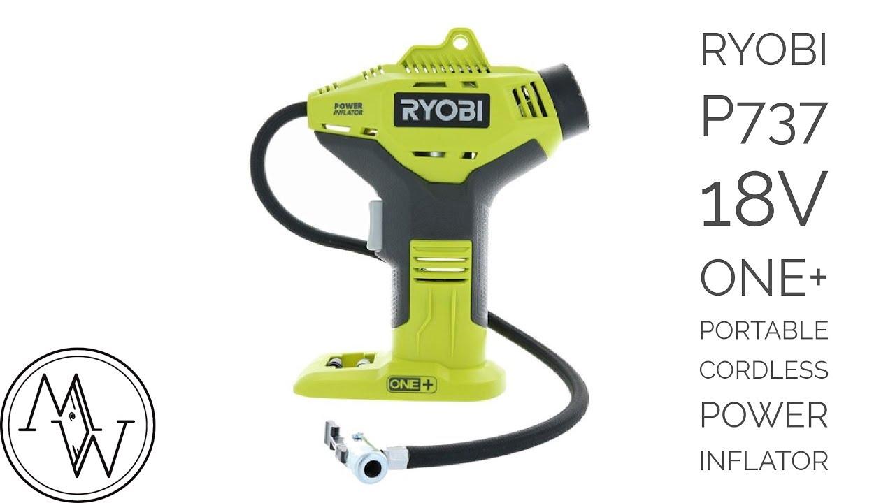 ryobi p737 18 volt air compressor power inflator. is it worth it