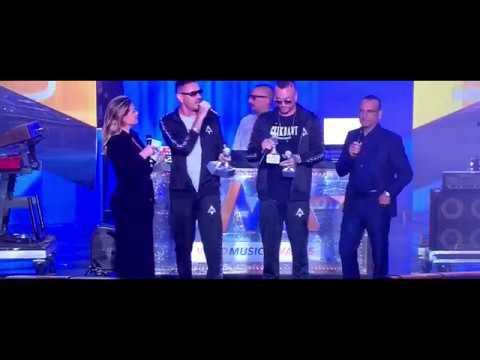 GUE' PEQUENO E MARRACASH ''Wind Awards'' SCOOTERONI LIVE + PREMIAZIONE