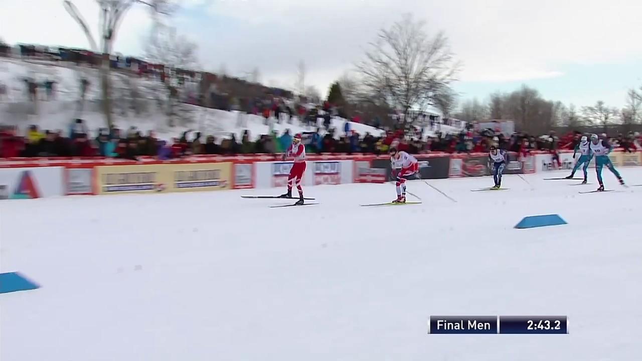 Alex Harvey Vinner Sprinten I Canada Langdskidor 2017